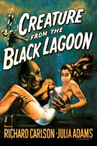 Film poster for Creature from the Black Lagoon