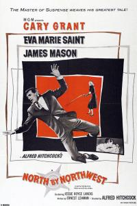 Film poster for North by Northwest