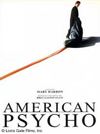 Film poster for American Psycho (2002)