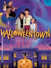 movie poster for Halloweentown