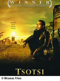 Film poster for Tsotsi