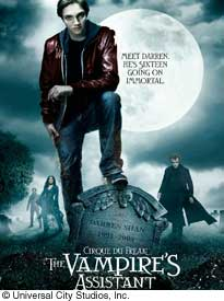 movie poster for Cirque du Freak: The Vampire's Assistant