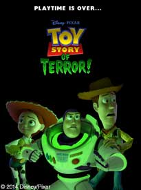 movie poster for Toy Story of TERROR!