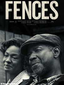 A movie poster of a bust of Black couple, man and woman, smiling and looking off camera. The movie title,