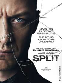 movie poster for Split