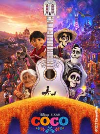 Poster Art for the film, Coco.