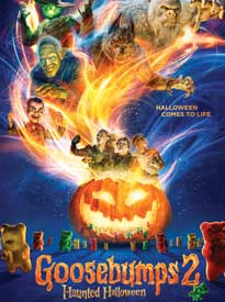 movie poster for Goosebumps 2: Haunted Halloween