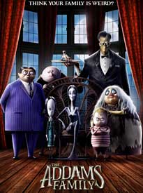 movie poster for The Addams Family